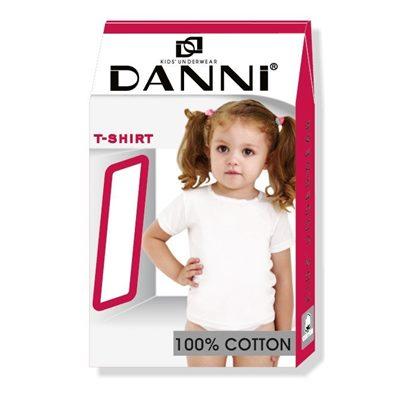 Футболка Данни T-Shirt девочка 7-8 белая