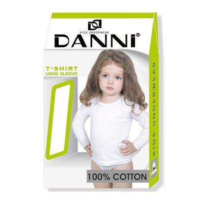 Майка с рукавом Данни Long Sleeve девочка 9-10