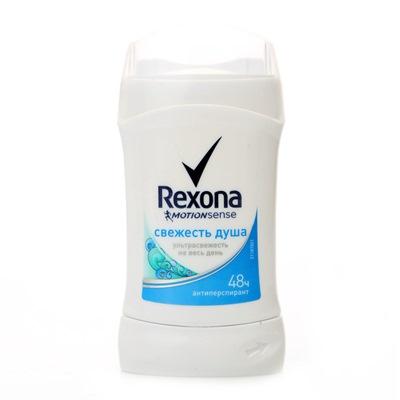Дезодорант жен Рексона сухой 40мл Свежесть душа