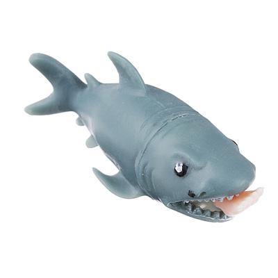 Мялка-антистресс в виде акулы 12см 297-047