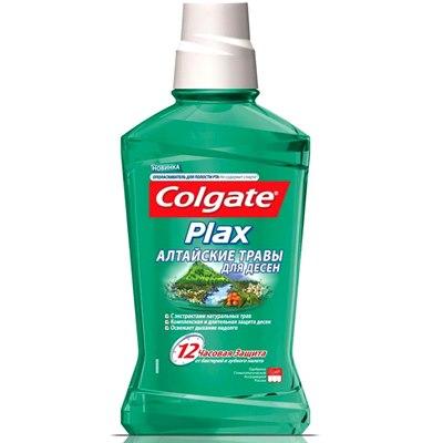Ополаскиватель рта Колгейт Plax 250мл Алтайские травы