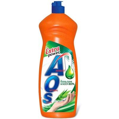 Жидкость для посуды AOS 900мл (АОС) Алоэ Вера
