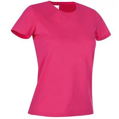 Футболка женская Классика р. S розовая