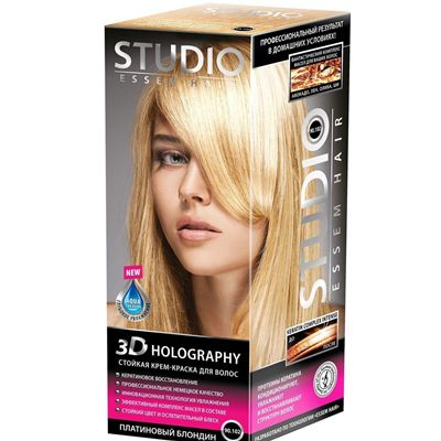 Краска д/в STUDIO 3Д Голографик 90.102 Платин блонд