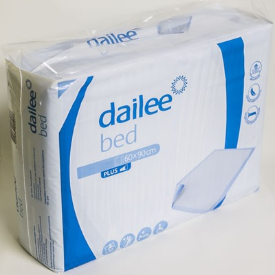 Пеленки 10шт 60*90см Dailee bed Plus
