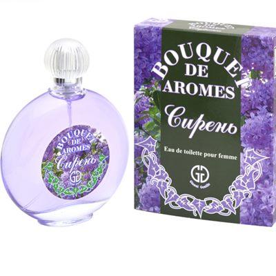 Т/в жен Bouquet De Aromes Сирень 95мл маркировка