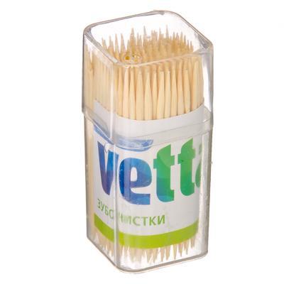 Зубочистки 150шт Vetta бамбук 437-240