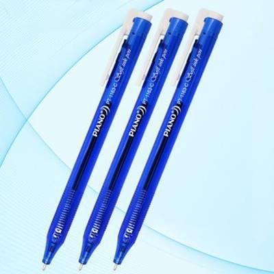 Ручка автомат синяя Piano 0,5мм, на масл. основе, PT-1163 по 50шт