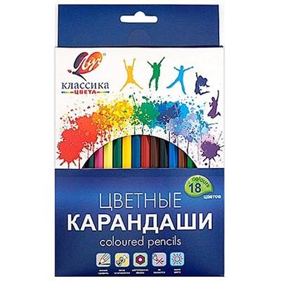 Карандаши цветные 18цв Луч 29С1711-08