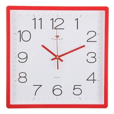 Часы настенные Классика 30*30 см красные 3028-141R