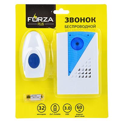 Беспроводной звонок FORZA 32 мелодии 924-048