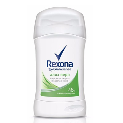 Дезодорант жен Рексона сухой 40мл Алоэ Вера