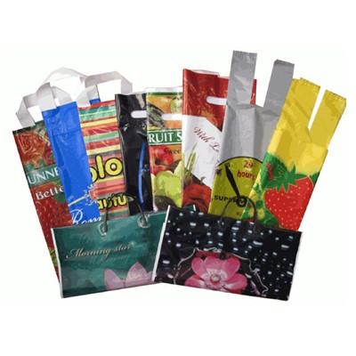 НАБОР пакетов 10шт разных с рисунками №1, цена за набор