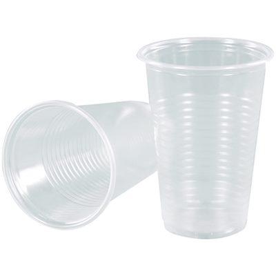 Стаканы однораз пластик 180мл сто шт/уп, цена за уп-ку