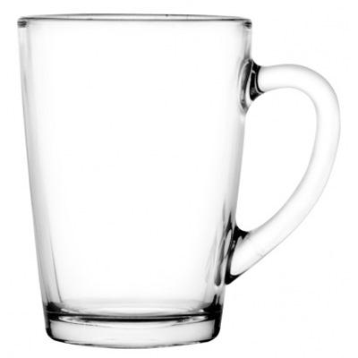 Кружка 300мл Капучино стекло бесцветная 07с1334-40
