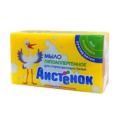 Мыло  Аистенок для  стирки детского белья 200г