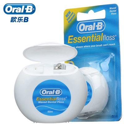 Нить зубная Oral-B 50м мятная (Орал)
