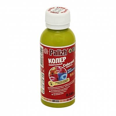 Колер универсальный PALIZH (0,1л 140гр) №01 лимонно-желтый