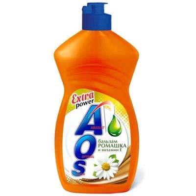 Жидкость для посуды AOS 450мл (АОС) Ромашка вит Е