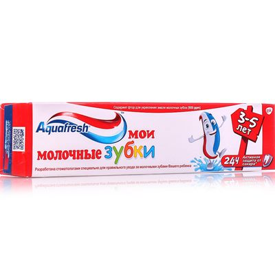 Паста зуб детская Аквафреш 50мл Мои молочн зубки (3-5)