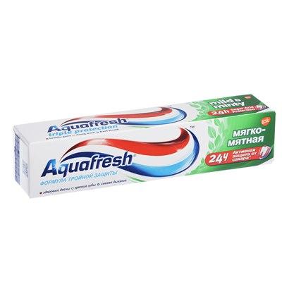 Паста зуб Аквафреш 100мл Мягко-мятная