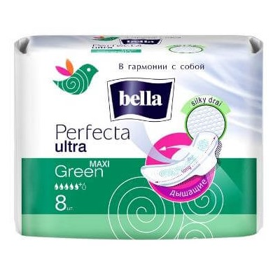 Прокладки Белла перфекта ультра maxi green 8шт