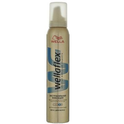 Мусс для волос Веллафлекс 200мл №4 экстра сильн фикс