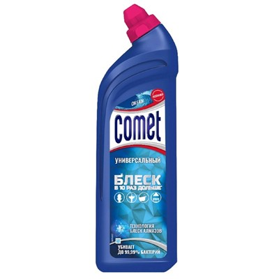Гель Комет чистящий 850мл Океан
