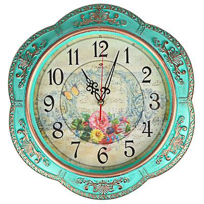 Часы настенные 35,5см в декоративной раме 581-827
