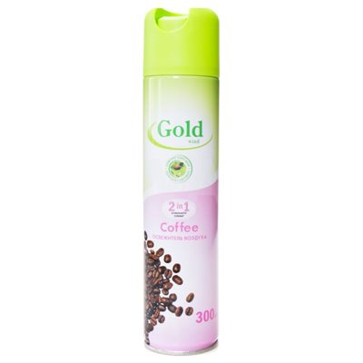 Освежитель воздуха Голд Винд 300мл Кофе