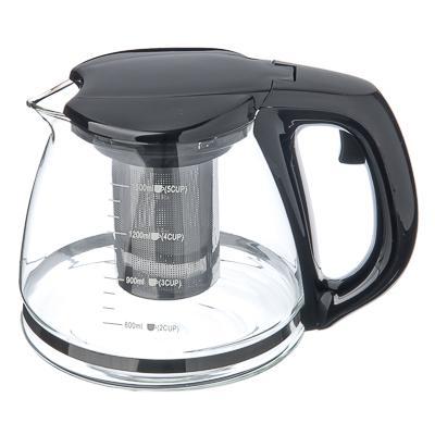 Чайник заварочный 1500мл стекло, ситечко нерж., Vetta 850-143