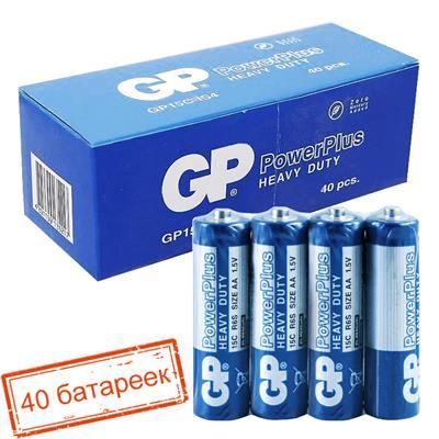 Батарейка пальчик PowerPlus R06 gp цена за 1шт