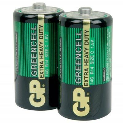 Батарейка средняя GP R14 Гринсилл