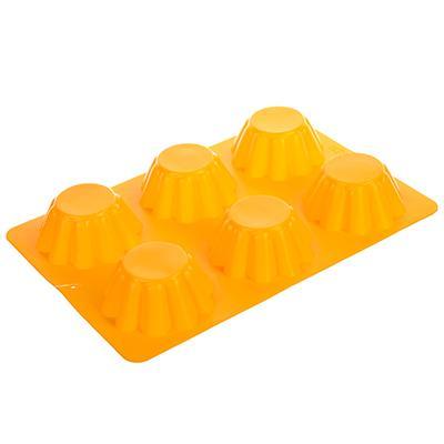 Форма силикон VETTA 6 яч для кексов 25.5*18*3.5см 891-005