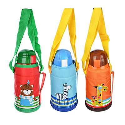 Термос детский в чехле 500 мл пластик сталь 829-184