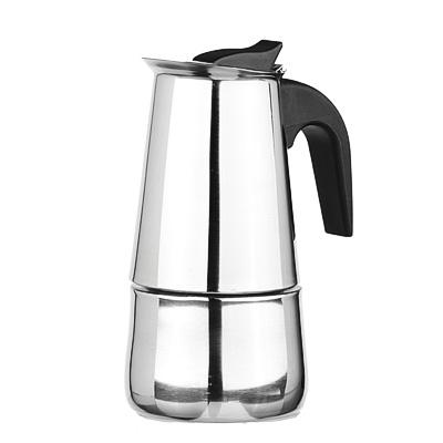 Кофеварка гейзерн нерж сталь, нейлон ручка 850-130