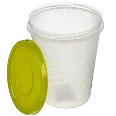 Емкость для продуктов с завинч. крышкой 0,7л GR 1888 с рис.
