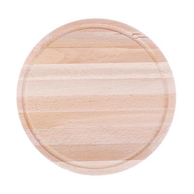 Доска разделочная круглая бук d24x12мм арт 2480