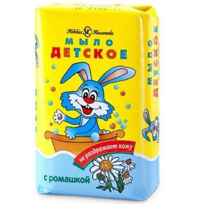 Мыло ДЕТСКОЕ НК 90г с ромашкой
