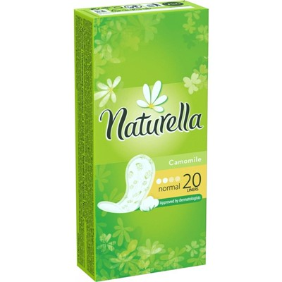 Прокладки ежедн Натурелла 20шт Нормал 2к ромашка