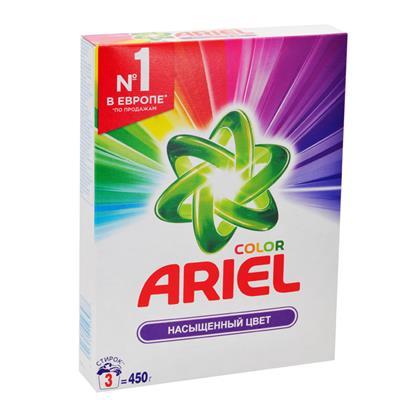 Порошок автомат Ариель 450г Колор Насыщенный цвет
