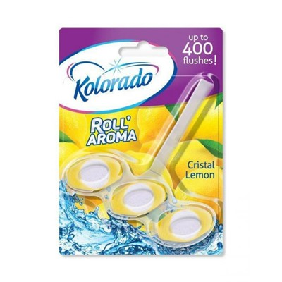 Блок для унитаза Kolorado Roll Aroma Лимон 51г