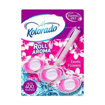 Блок для унитаза Kolorado Roll Aroma Экзотик 51г