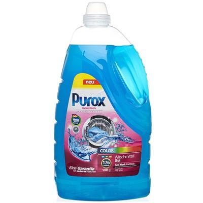 Гель для стирки Purox 5,3л Color 176 стирок
