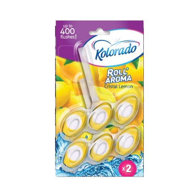 Блок для унитаза Kolorado Roll Aroma Лимон 2*51г