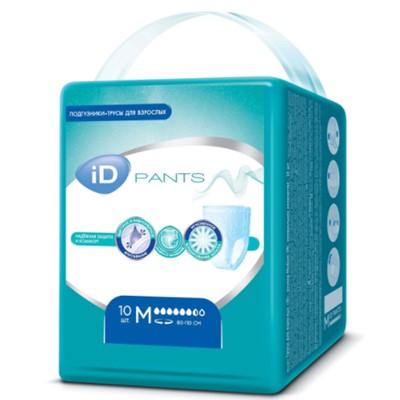 Трусы для взрослых iD Pants M 10 шт