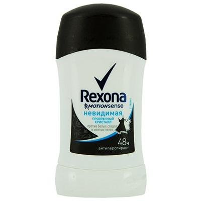 Дезодорант жен Рексона сухой 40мл Невидим прозр крист
