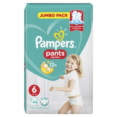 Подгузники Памперс трусики Pants №6 Extra Large 44шт