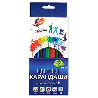 Карандаши цветные 12цв Луч 29С1710-08