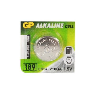 Батарейка таблетка GP alkaline G 10 цена за 1 шт